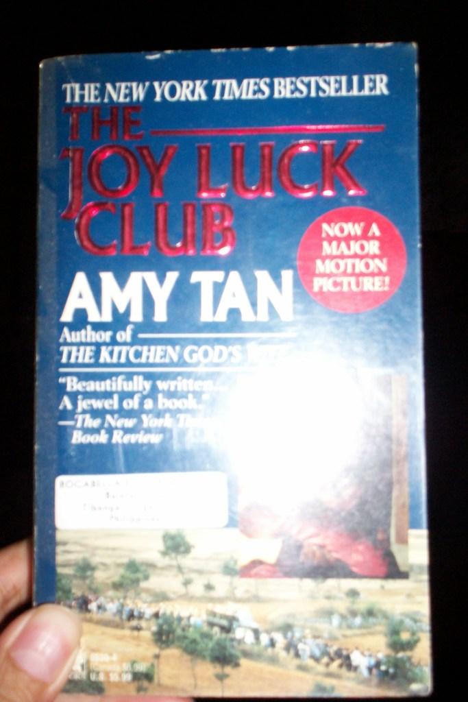 joy luck club by amy tan essay Essays and criticism on amy tan's the joy luck club - the joy luck club, amy  tan.