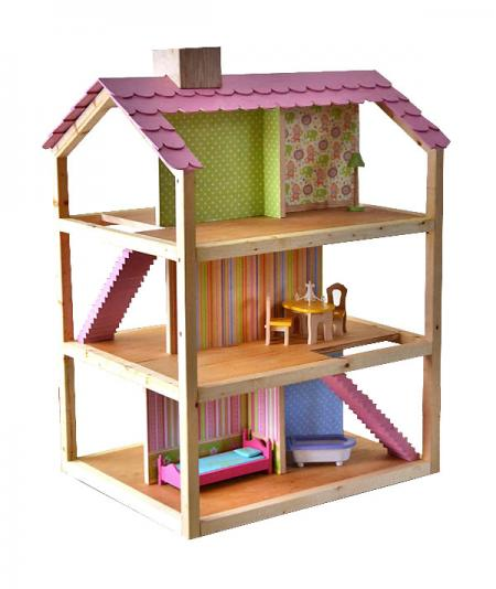 Home for barbie bratz or country house dollhouse kit barbie scale