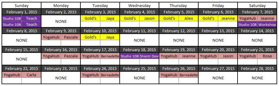 yoga feb 2015