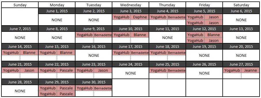 yoga jun 2015