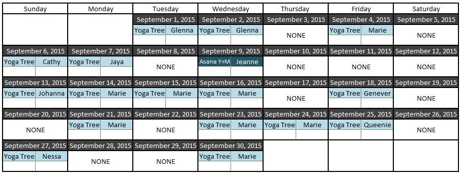 yoga sep 2015