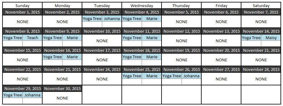 yoga nov 2015